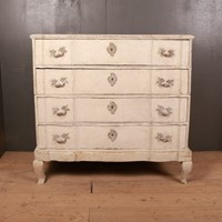 Danish Serpentine Front Commode