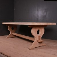 French Monastery Trestle Table