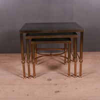 French Brass and Glass Tables