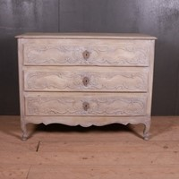 French Carved and Painted Commode