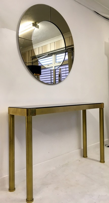 1970s Italian brass console table with mirror-august-interiors-011-main-636582016646249900.JPG