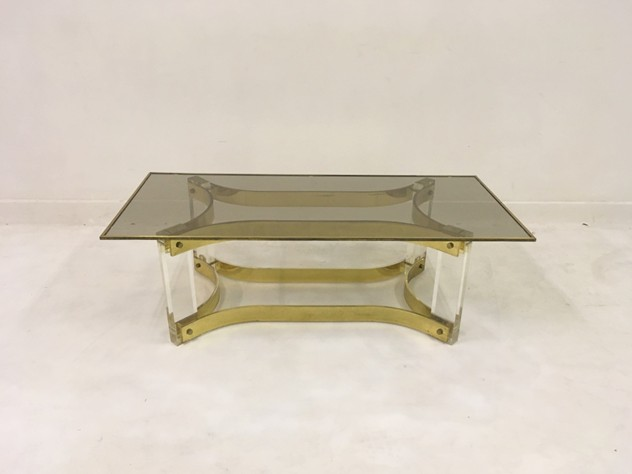 1970s acrylic and brass coffee table-august-interiors-046_main_636522198178392055.JPG