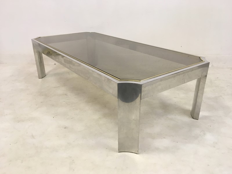 1970s aluminium and brass coffee table-august-interiors-063-main-636955950156237046.JPG
