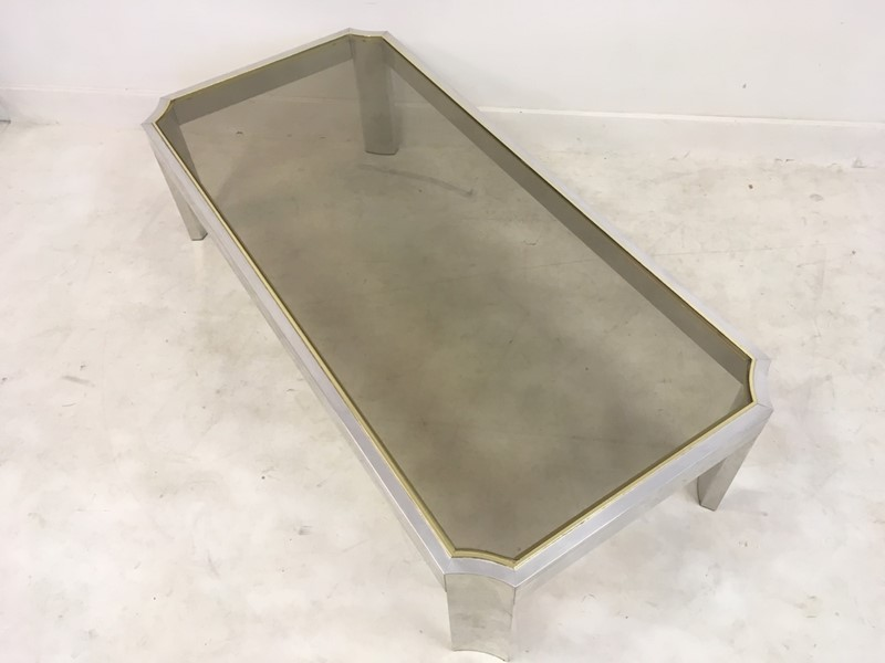 1970s aluminium and brass coffee table-august-interiors-064-main-636955950247017561.JPG