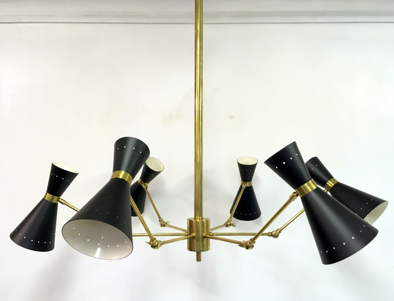1950s style Italian brass and enamel ceiling light-august-interiors-096-main-636645899607718043.JPG
