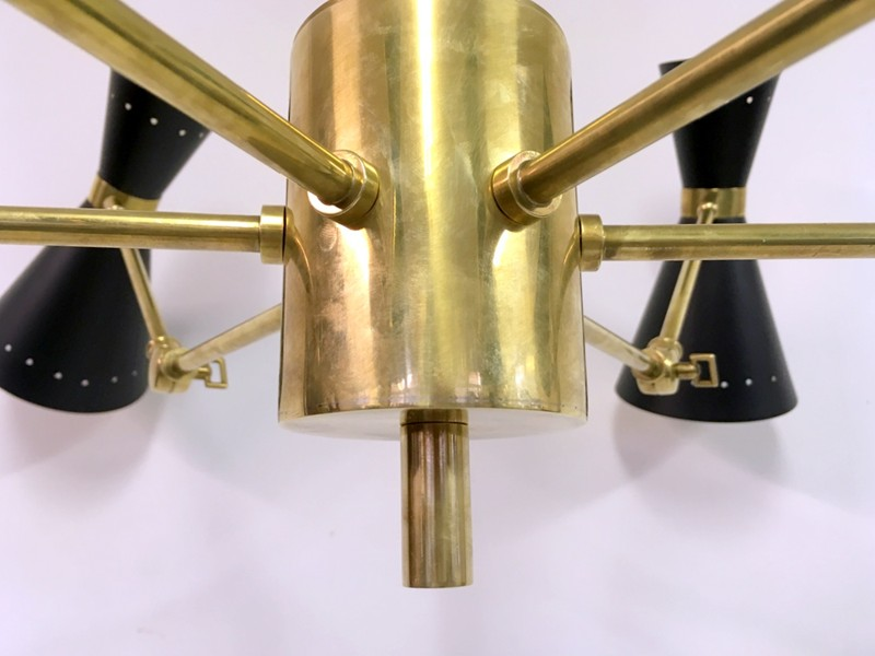 1950s style Italian brass and enamel ceiling light-august-interiors-099-main-636645899236733397.JPG