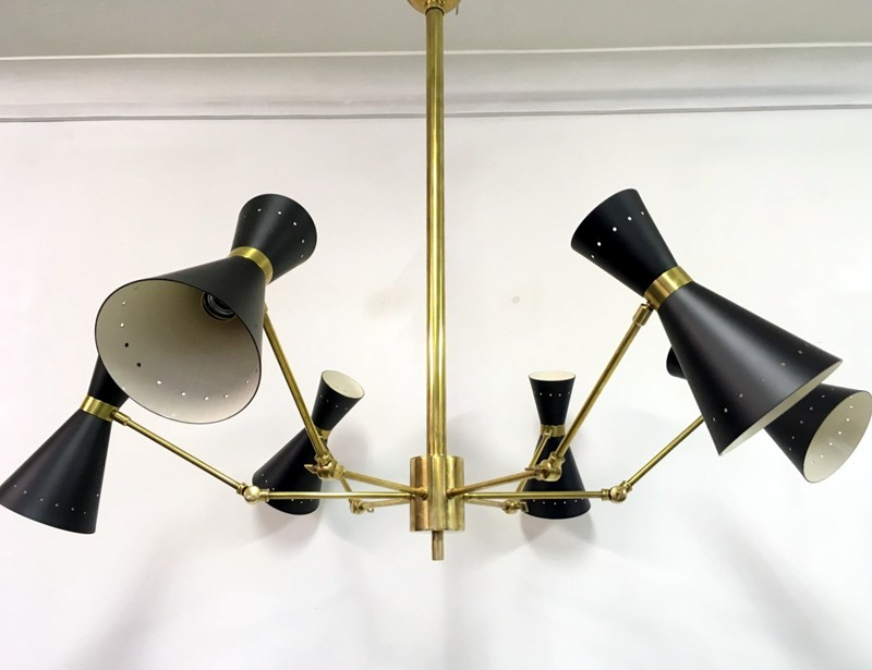 1950s style Italian brass and enamel ceiling light-august-interiors-102-main-636645899426593916.JPG