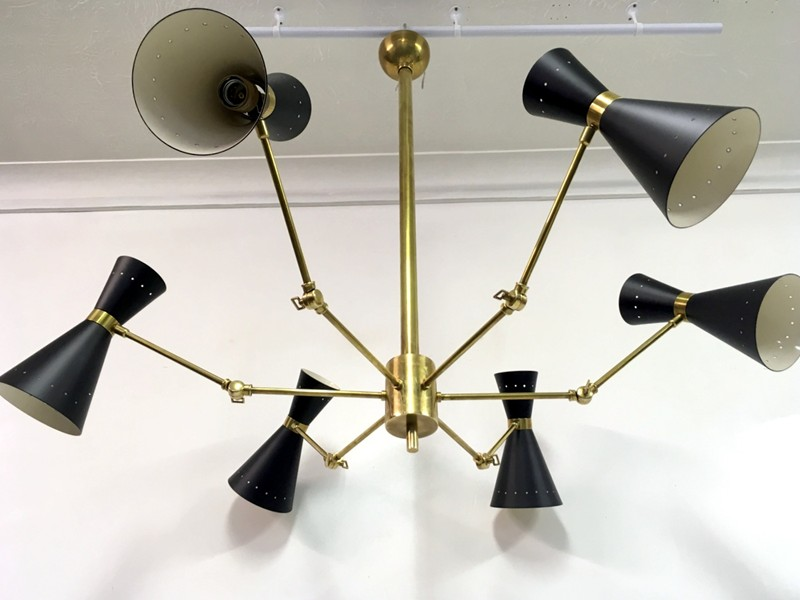 1950s style Italian brass and enamel ceiling light-august-interiors-103-main-636645899488528695.JPG
