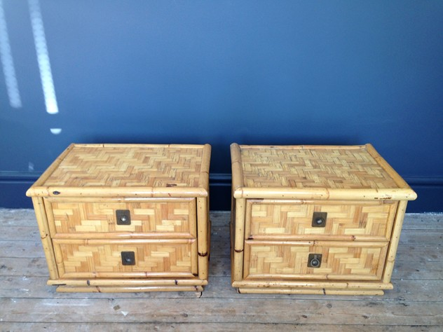 A pair of bamboo and brass bedside tables-august-interiors-114_main.JPG