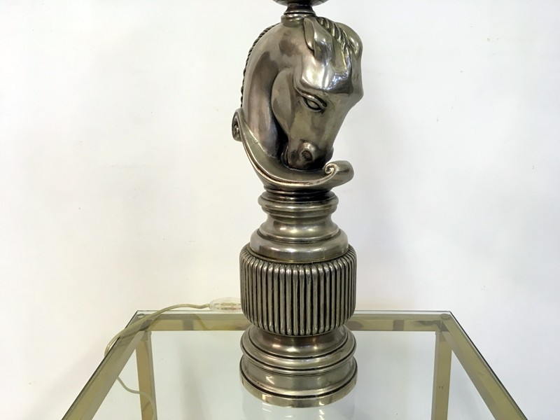 1970s French nickel horse head lamp-august-interiors-129-main-636656112524426425.JPG
