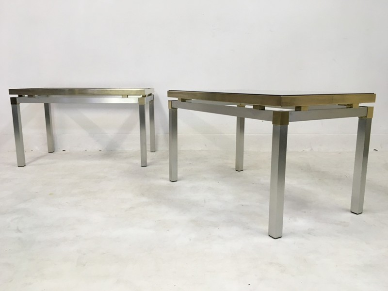 1970s Italian aluminium and brass side tables-august-interiors-168-main-636675043114710038.JPG