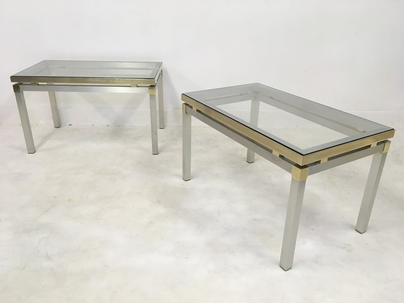 1970s Italian aluminium and brass side tables-august-interiors-169-main-636675043168220782.JPG
