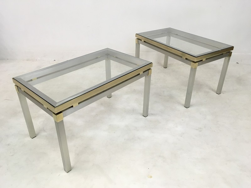 1970s Italian aluminium and brass side tables-august-interiors-170-main-636675043230467974.JPG