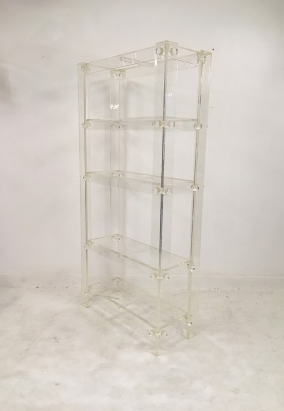 1970s acrylic etagere in the style of Hollis Jones-august-interiors-171-main-636854986129109367.JPG