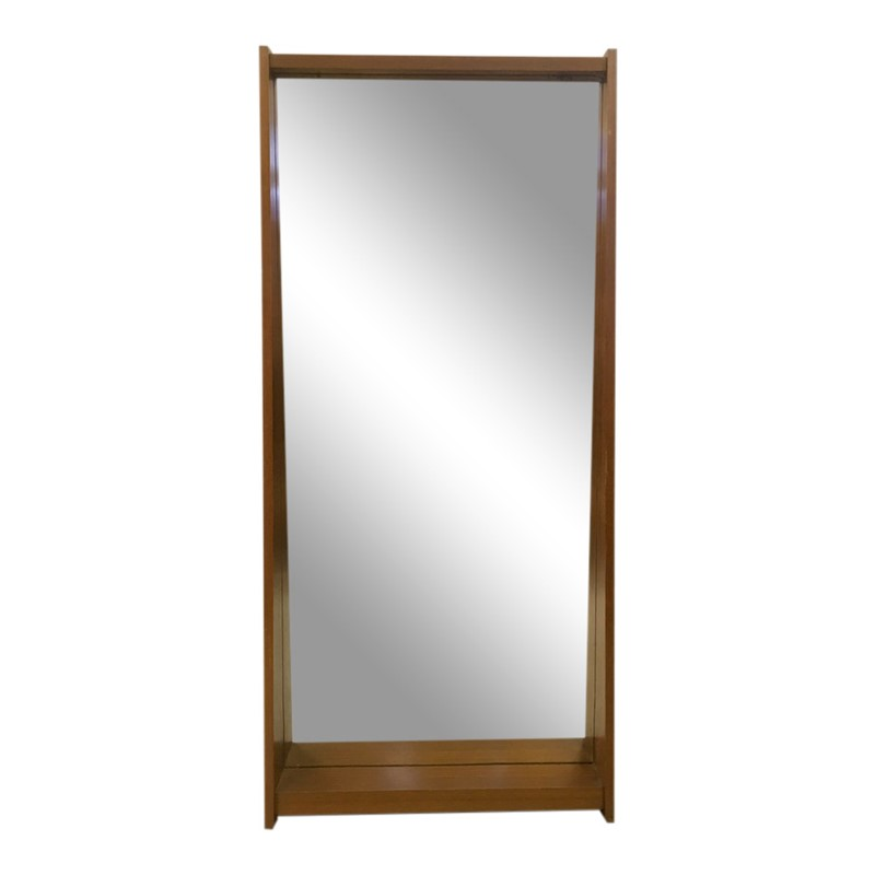 1960s Italian teak mirror -august-interiors-1960s-italian-mirror-teak-retro-vintage-shelf-main-636971629500637397.JPG