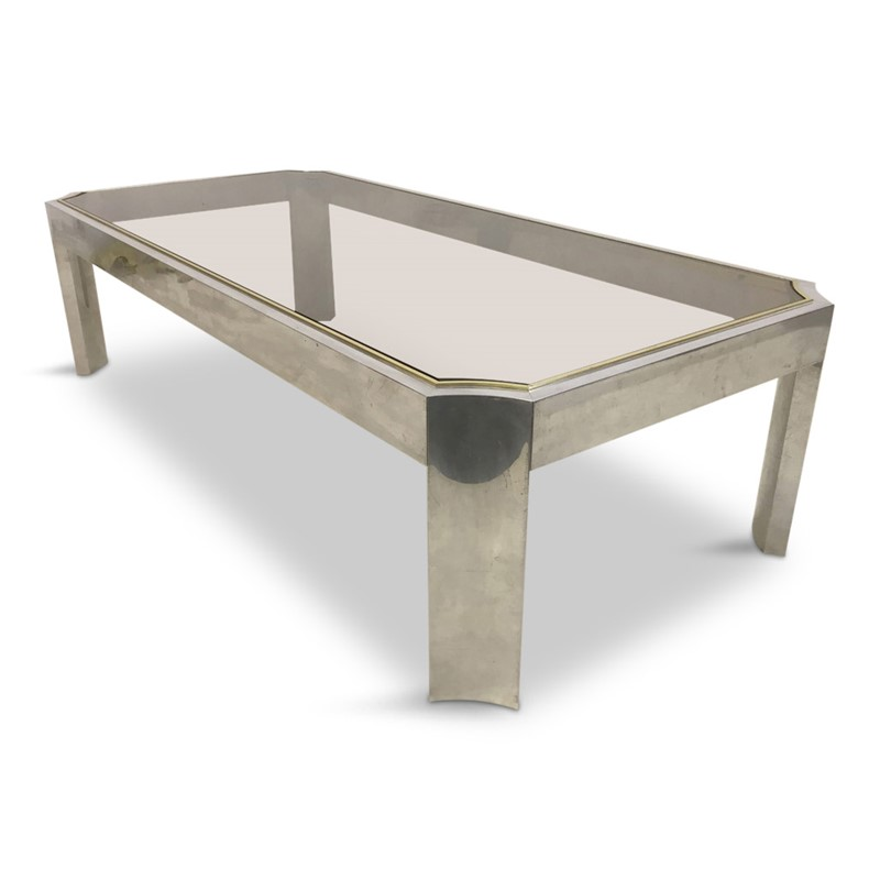 1970s aluminium and brass coffee table-august-interiors-1970s-aluminium-and-brass-coffee-table-vintage-retro-hollywood-regency-main-636955949650927361.JPG