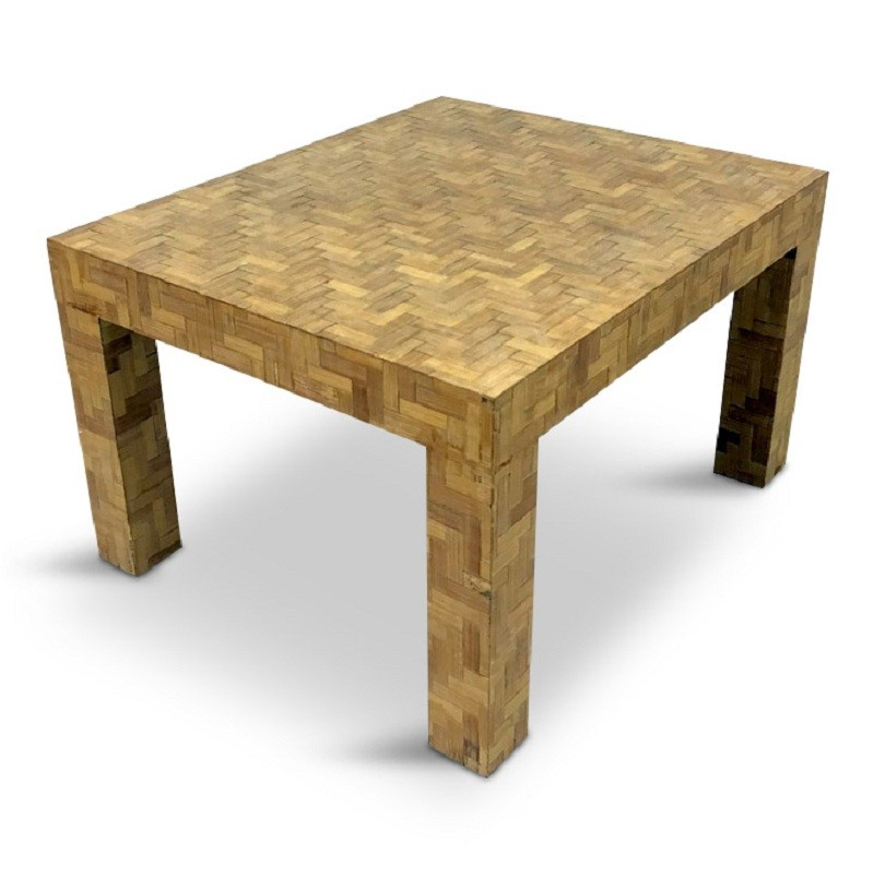 1970s Italian patchwork bamboo coffee table-august-interiors-1970s-italian-wicker-rattan-table-coffee-table-retro-vintage-main-636874812943685069.JPG