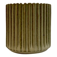 1940s Danish Stoneware Pot by Arne Bang