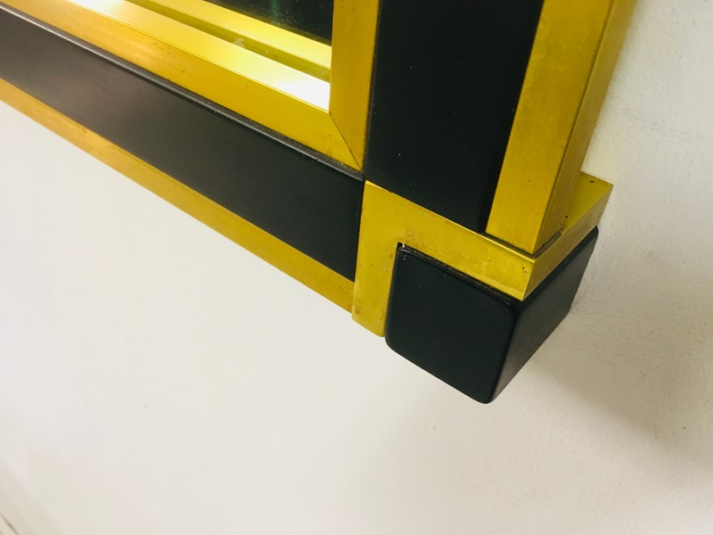 1970s Italian brass and black console table mirror-august-interiors-img-3597-main-637015705508651482.jpg