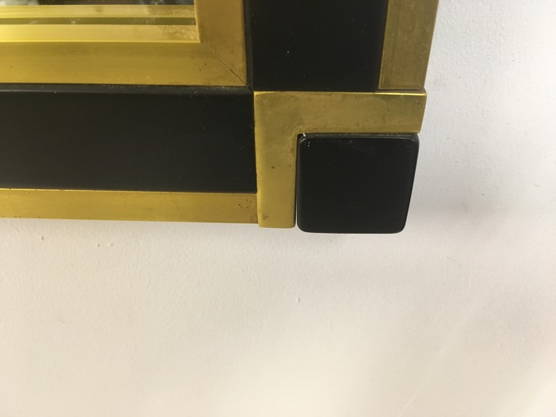 1970s Italian brass and black console table mirror-august-interiors-img-3600-main-637015705716150392.jpg
