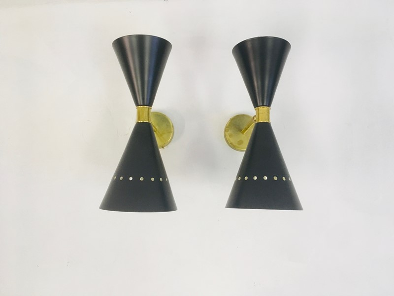 A pair of 1950s style Italian diabolo wall lights-august-interiors-img-3784-main-637024514416795753.jpeg