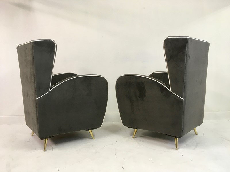 A pair of 1950s Italian armchairs in grey velvet-august-interiors-img-4444-main-637090764285243380.jpeg