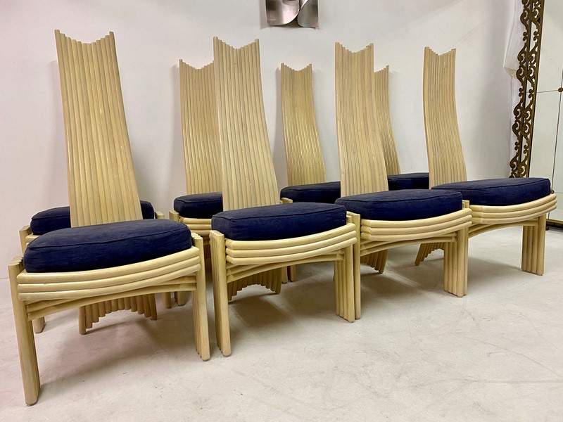 A Set of Eight 1980s Bamboo Dining Chairs-august-interiors-img-7267-main-637205127113382782.jpeg