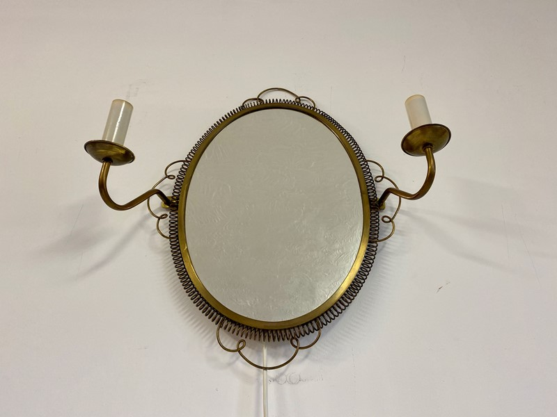 1950s Swedish Brass Mirror with sconces-august-interiors-img-7998-main-637245337275601744.jpeg