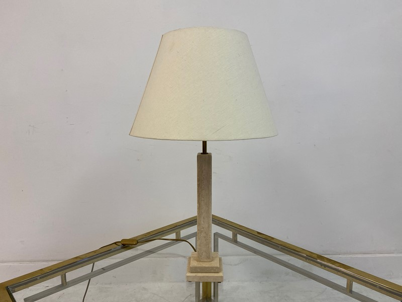 1970s Italian Travertine Table Lamp-august-interiors-img-8343-main-637260416559989012.jpeg