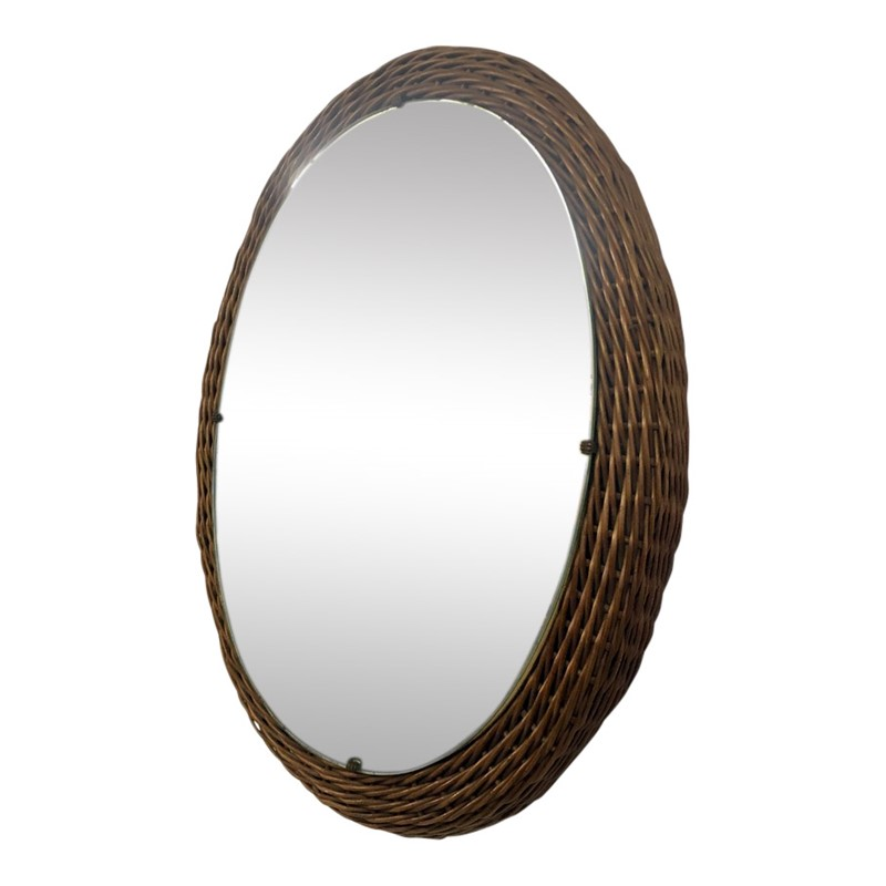 1950s Italian wicker wall mirror-august-interiors-italian-wicker-rattan-1950s-1960s-mirror-main-636971633431431389.JPG