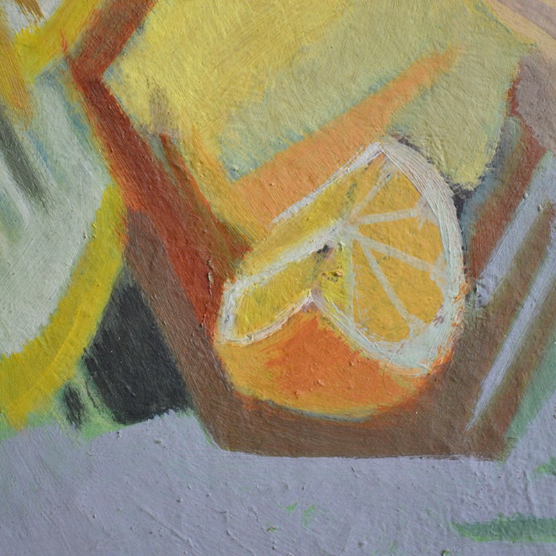 1957, Oil Painting, 'Still Life with Oranges,' -barnstar-1957 Louis WAGNER still life with oranges DEET1-main-636703728919377240.jpg