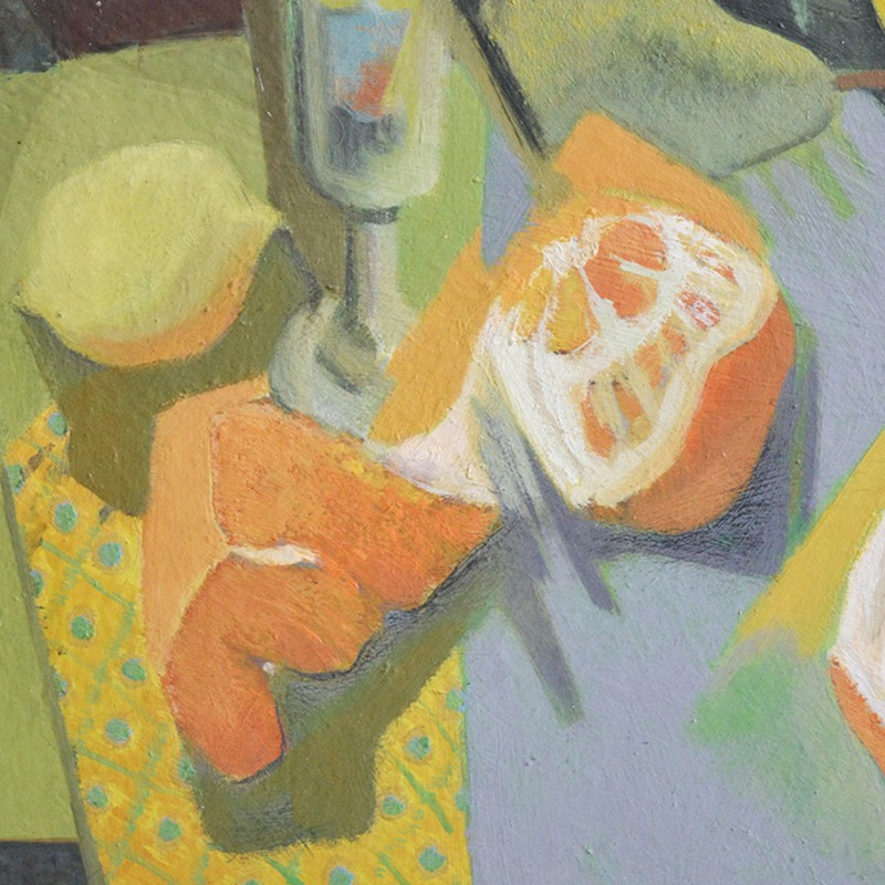 1957, Oil Painting, 'Still Life with Oranges,' -barnstar-1957 Louis WAGNER still life with oranges DEET3-main-636703728937786184.jpg