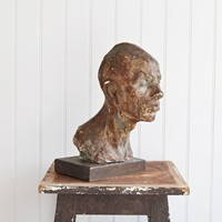 Plaster Head of a Man