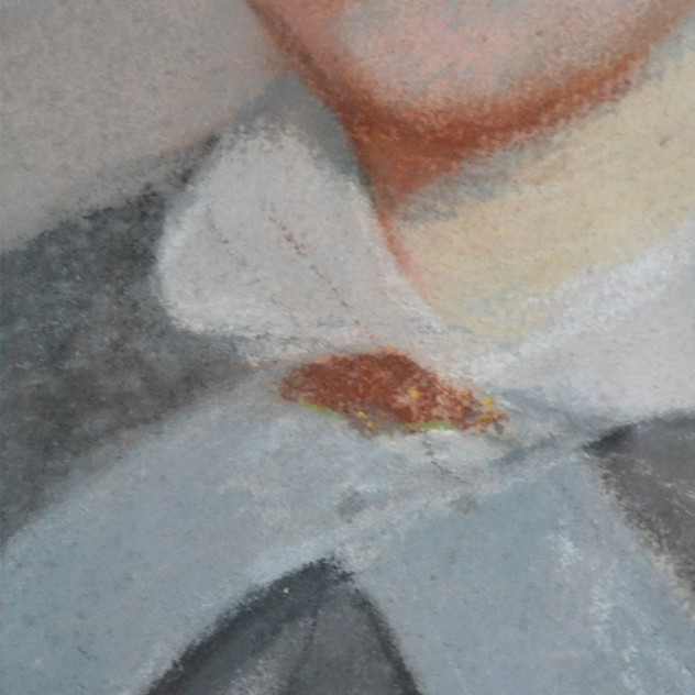 19thC Pastel Portrait, Woman with White Collar-barnstar-Pastel Portrait with White Bow4 _main_636512806768901467.jpg