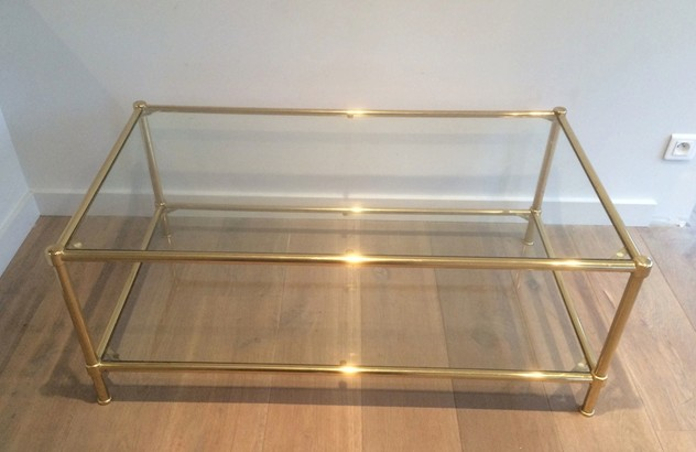 Brass Coffee Table. French. Circa 1970-barrois-antiques-50's-10537_main_636370955112158316.jpg