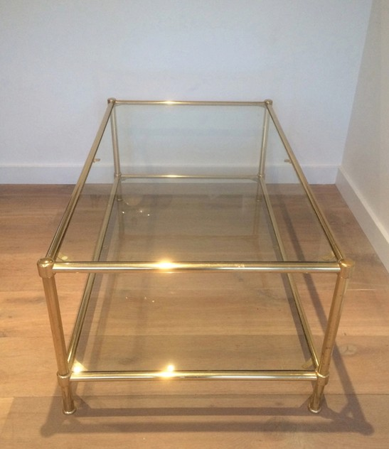 Brass Coffee Table. French. Circa 1970-barrois-antiques-50's-10544_main_636370979297922548.jpg