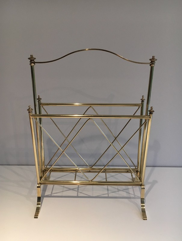 Neoclassical Brass Magazine Rack-barrois-antiques-50's-1286-main-636639632151173257.jpg