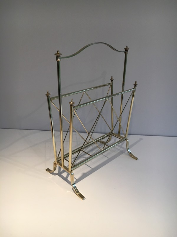 Neoclassical Brass Magazine Rack-barrois-antiques-50's-1288-main-636639632264903089.jpg