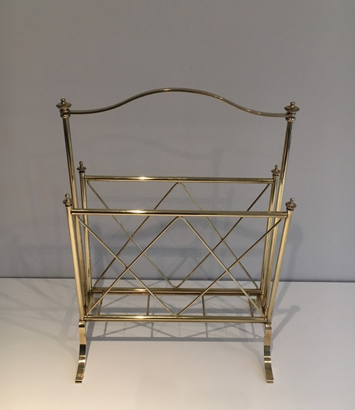 . Neoclassical Brass Magazine Rack-barrois-antiques-50's-1296-main-636639632348523377.jpg