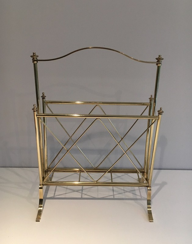 Neoclassical Brass Magazine Rack-barrois-antiques-50's-1297-main-636639632359599945.jpg