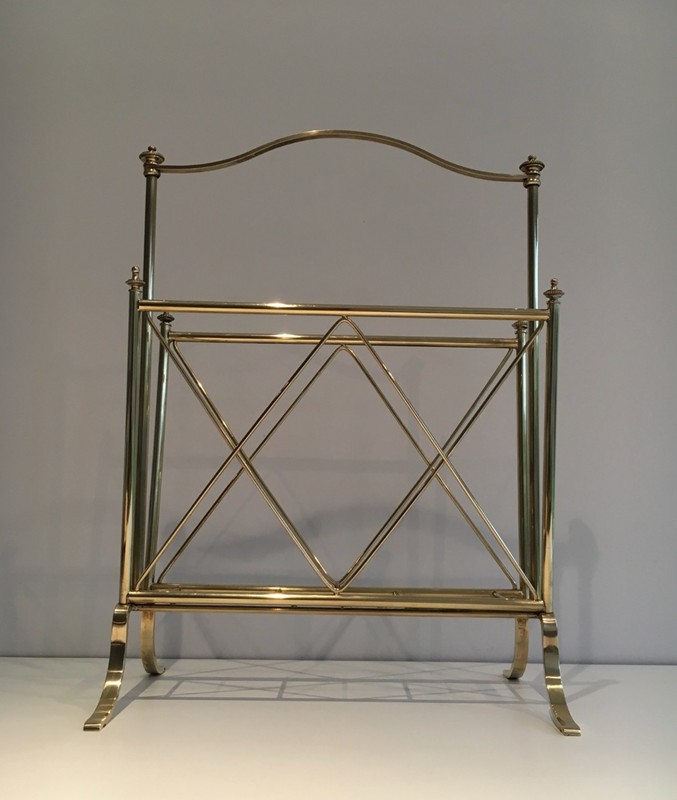 Neoclassical Brass Magazine Rack-barrois-antiques-50's-1298-main-636639632370364497.jpg