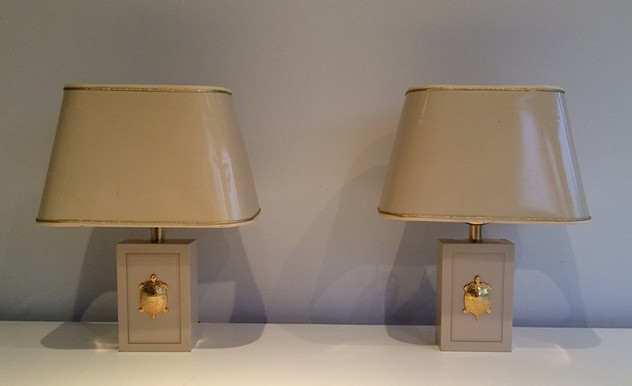 Pair of lamps with gild turtles ornaments. 1970's-barrois-antiques-50's-15625_main_636279351611854491.jpg