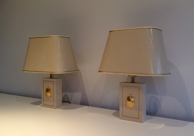 Pair of lamps with gild turtles ornaments. 1970's-barrois-antiques-50's-15626_main_636279351658968907.jpg