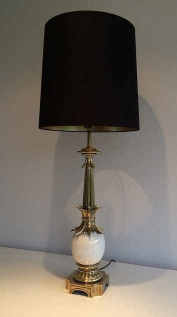 Bronze and Ceramic Egg Lamp. 1960's-barrois-antiques-50's-15656_main_636383297338233693.jpg