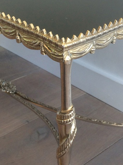 Silver coffee table with horsefeet & black top-barrois-antiques-50's-17987_main_636420159689946417.jpg