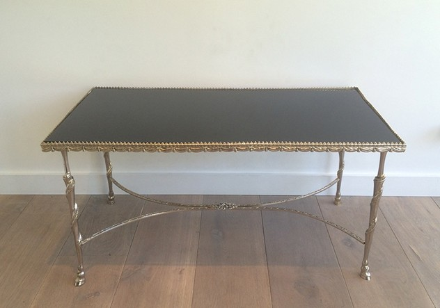 Silver coffee table with horsefeet & black top-barrois-antiques-50's-18000_main_636420162751447409.jpg