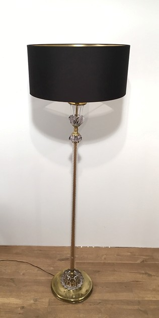 Attrib to Barovier & Toso. Murano Glass Floor Lamp-barrois-antiques-50's-18576_main_636276432357948145.jpg