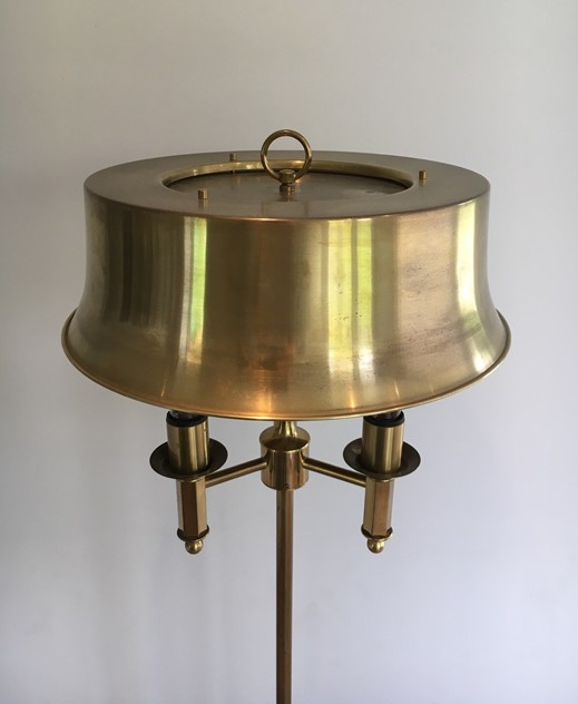 Beautiful Brass Floor Lamp-barrois-antiques-50's-25755_main_636505322261856487.JPG