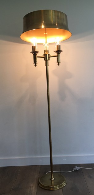 Beautiful Brass Floor Lamp-barrois-antiques-50's-25761_main_636505323494787711.JPG