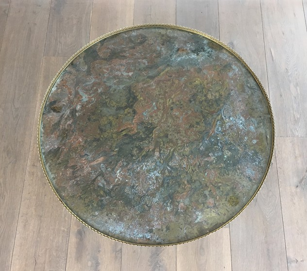 Attrib. to Maison Ramsay. Brass Round Coffee Table-barrois-antiques-50's-26169_main_636540619028983134.JPG